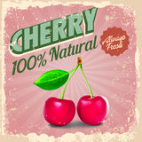CHERRY RETRO Stock Photo