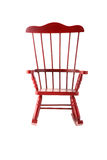 Cherry rocking chair Royalty Free Stock Photos