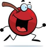 Cherry Running vector illustration