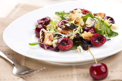 Cherry Salad Stock Photography