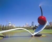 Cherry Sculpture, Claus Oldenburg, Minneapolis, Minnesota Royalty Free Stock Photos