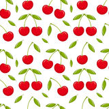 Cherry seamless Royalty Free Stock Photo