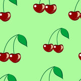 Cherry seamless Stock Images