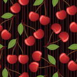 Cherry seamless pattern. Royalty Free Stock Photography