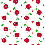 Cherry,  seamless pattern Stock Image