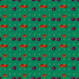 Cherry seamless pattern 2 Royalty Free Stock Photography
