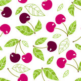 Cherry seamless pattern Stock Images