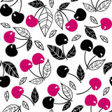 Cherry seamless pattern Royalty Free Stock Photography