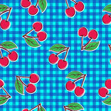 Cherry seamless pattern Royalty Free Stock Photo