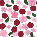 Cherry Seamless Stock Photos