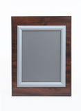 Cherry and Silver Picture Frame Stock Photography
