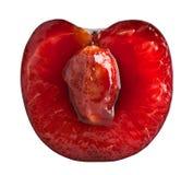 Cherry slice Stock Images