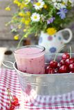 Cherry smoothy Stock Photography