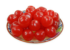 Cherry Sours Small Dish Royalty Free Stock Image