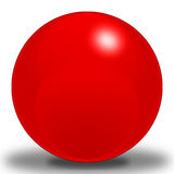 Cherry Sphere Royalty Free Stock Photo