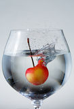 Cherry Splash Royalty Free Stock Photo