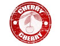 Cherry stamp Stock Image