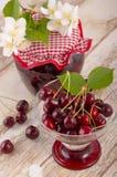 Cherry stewed fruit Royalty Free Stock Image