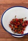 Cherry stones Royalty Free Stock Photos