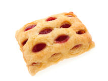 Cherry strudel bar Stock Image