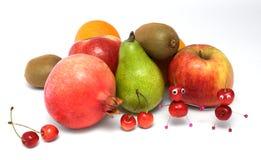 cherry stworzył ludzi kolorowych Obrazy Royalty Free