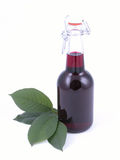 Cherry syrup Royalty Free Stock Photos