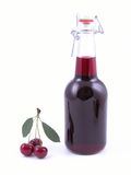 Cherry syrup Stock Photos