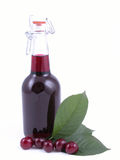 Cherry syrup Royalty Free Stock Photography