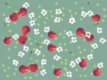 cherry tło Obrazy Stock