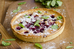 Cherry tart Royalty Free Stock Image