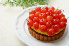 Cherry Tart Imagenes de archivo