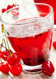 Cherry Tea Royalty Free Stock Images