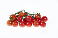 Cherry tomato. Isolated on white Royalty Free Stock Photography