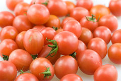 Cherry tomato. Joan of fruit, also known as the pearl of small tomatoes, a small cherry tomatoes, can vegetables can also fruit. Can also be made into preserves Stock Images