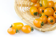 Cherry tomato. Joan of fruit can increase the body's resistance to slow down the aging, reduce wrinkles, it is particularly suitable for girls for beauty, can be Stock Photos