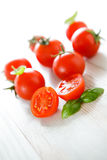 Cherry tomato Stock Photography