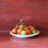 Cherry Tomato Royalty-vrije Stock Afbeeldingen