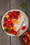 Cherry Tomato Foto de archivo libre de regalías