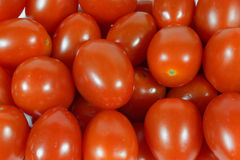 Cherry Tomato Background, primo piano Immagini Stock