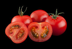 Cherry tomato bunch vegetable Stock Images