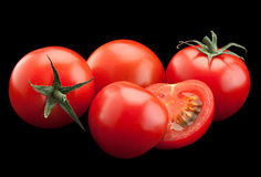 Cherry tomato bunch vegetable Royalty Free Stock Photos