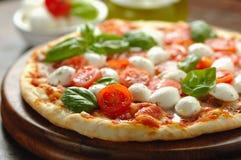 Cherry tomato  italian focaccia Royalty Free Stock Image