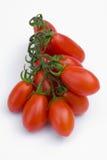 Cherry Tomato no fundo branco Foto de Stock Royalty Free