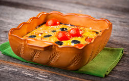 Cherry Tomato Clafoutis Royalty Free Stock Photos - Image: 23705478