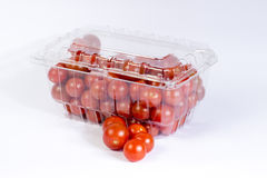 Cherry tomato package Royalty Free Stock Photography