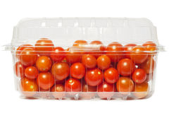 Cherry tomato package Stock Images