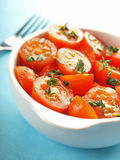 Cherry tomato salad Stock Photo
