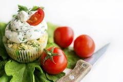 Cherry tomato on a simple white minimalistic background Royalty Free Stock Photos