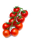 Cherry tomato-Solanum lycopersicum Royalty Free Stock Photos