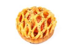 Cherry tomato tart pie Royalty Free Stock Photos